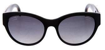 Chanel Galuchat CC Sunglasses