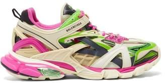 Balenciaga Track 2 Trainers - Mens - Green Multi