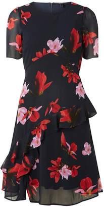 Dorothy Perkins Womens **Vero Moda Multi Coloured Katy Skater Dress, Multi Colour