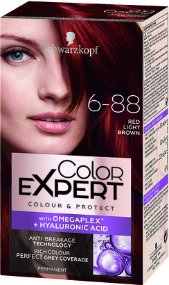 Schwarzkopf Colour Expert Permanent Hair Colour 6.88 Red Light Brown