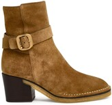 Thumbnail for your product : Tod's Buckle-Detailed Ankle Boots