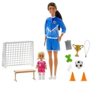 Barbie Soccer Coach Dolls