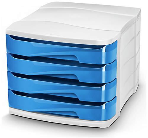 CEP Ocean Blue Desktop Storage - Set of 4