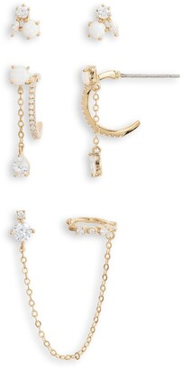 Nordstrom Set of 3 Earrings