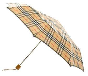 50510411ed98 Burberry Check Umbrella - ShopStyle