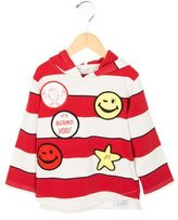 Stella McCartney Boys' Striped Hooded Sweatshirt