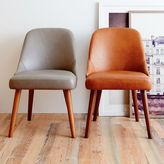 west elm Mid-Century Leather Dining Chair