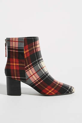 Sol Sana Florence Plaid Ankle Boots