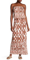 TORI RICHARD Sleeveless Maxi Dress