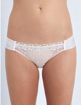 Heidi Klum Intimates Dolce Vita Insieme mesh bikini briefs