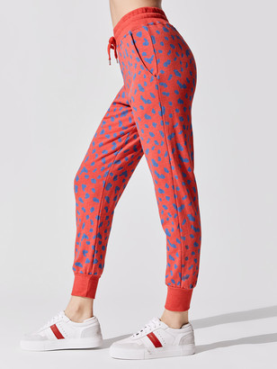 Sundry Abstract Dots Tapered Sweatpants