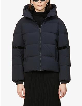 Fusalp Barsy hooded shell-down jacket
