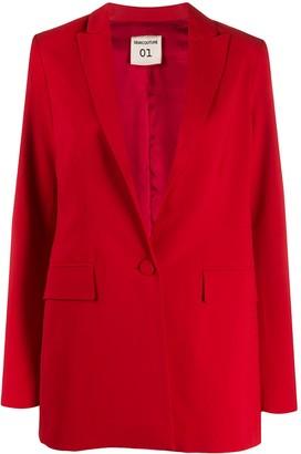 Semi-Couture Semicouture straight single-breasted blazer