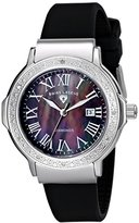 Swiss Legend Women's 20032D-01 South Beach Collection Diamond Accented Black Watch