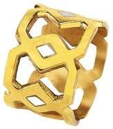 """Mela Artisans Brass Napkin Ring """"Monroe"""""""