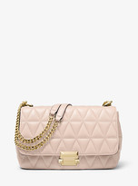 Michael Kors Sloan Large Quilted-Leather Shoulder Bag