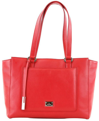 Cellini CLQ210 Manning Double Handle Red Tote Bag
