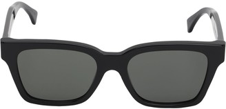 RetroSuperFuture America Black Acetate Sunglasses
