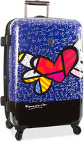"Heys Britto Heart with Wings 26"" Expandable Hardside Spinner Suitcase"