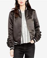 Rachel Roy Ruffled Bomber Jacket, Created for Macy's
