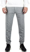 Moncler Men's Gamme Bleu Cotton Ribbed Sweatpants Grey.