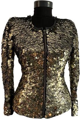 Isabel Marant Gold Glitter Jackets