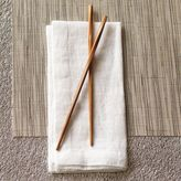 Sur La Table Twisted Bamboo Chopsticks, Set of 5