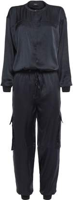 Theory Crinkled Satin Jumpsuit