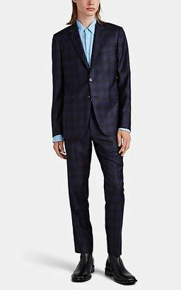 Paul Smith Men's Kensington Plaid Wool Two-Button Suit - Navy