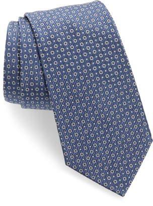 Emporio Armani Dot Silk Blend Tie
