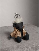 Burberry The Punk Thomas Bear Charm, Grey