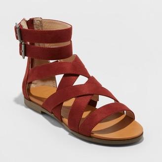 Universal Thread Women's Rosalee Microsuede Gladiator Sandals - Universal ThreadTM