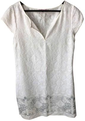 Calypso St. Barth White Silk Dress for Women