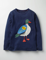 Boden River Bank Appliqué T-shirt