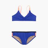 J.Crew Girls' bikini set in colorblock