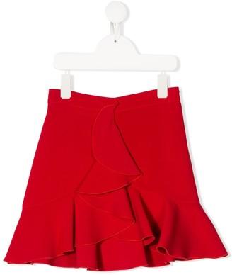Philosophy Di Lorenzo Serafini Kids Ruffle-Trim Flared Skirt