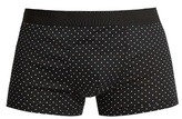 Dolce & Gabbana Polka Dot-print Cotton Boxer Trunks