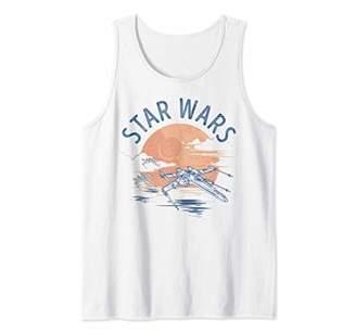 Star Wars X-Wing Sunset Tank Top
