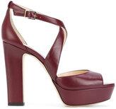 Jimmy Choo April platform sandals - women - Leather - 35
