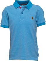 Luke 1977 Little Luke Boys Wings Polo Lux Sky White