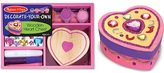 Melissa & Doug Wooden Heart Chest Dyo Kit