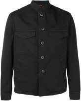 Barena button-down jacket - men - Cotton/Spandex/Elastane - 46