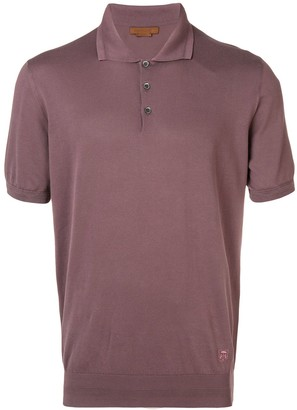 Corneliani plain polo shirt