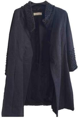 By Malene Birger Grey Wool Coats