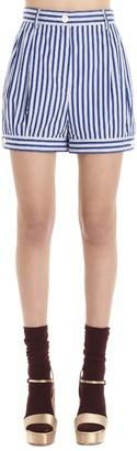 Prada Striped Shorts