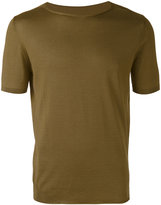 Roberto Collina short-sleeve jumper - men - Cotton - 46