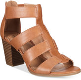 Style&Co. Style & Co Janinaa Block-Heel Sandals, Created for Macy's Women's Shoes