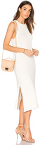 Lacausa Opal Hand Knit Dress in White. - size L (also in XS)