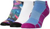 Sof Sole Women's Finish Line Performance 3-Pack No-Show Socks
