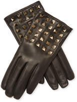 Valentino Women's Leather Stud Gloves